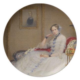 Emperatriz Alexandría Fedorovna de Christina Rober Platos Para Fiestas