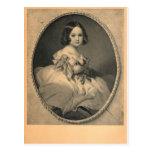 Emperatriz Charlotte de México por Winterhalter Postal