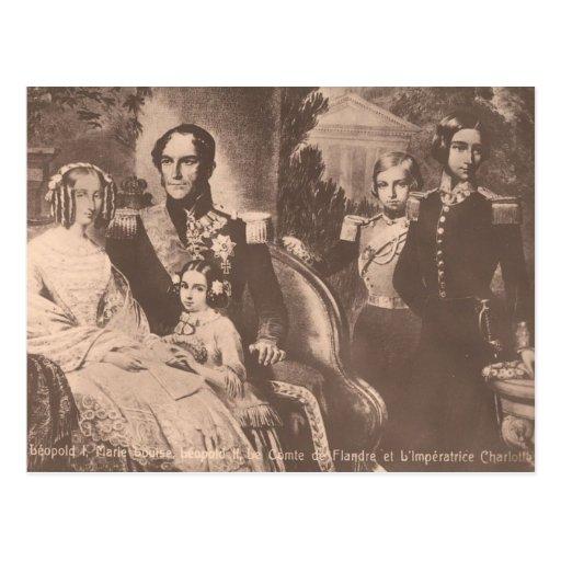 Emperatriz Charlotte de México y de la familia Postal