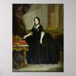 Emperatriz de Maria Teresa de Austria Póster