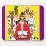 Emperatriz de Zion Tapetes De Ratones