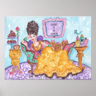 Emperatriz del Ambición-Poster Póster