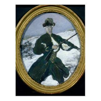 Emperatriz Elizabeth Hunting, 1902 Postales