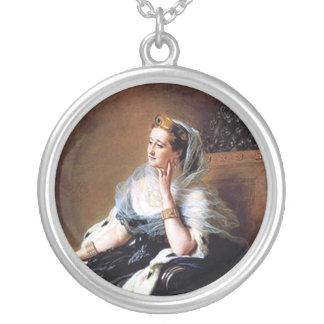 Emperatriz Eugnie del francés Colgante Redondo