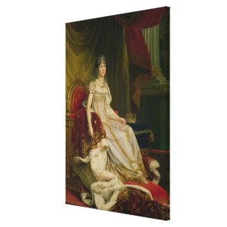 Emperatriz Josephine 1808 Impresión En Lona