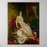 Emperatriz Josephine 1808 Póster