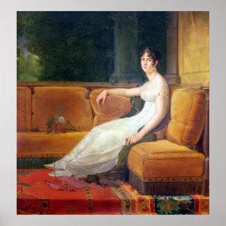 Emperatriz Josephine en Malmaison, c.1801 Impresiones