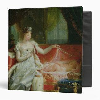 """Emperatriz Marie-Louise y el rey de Roma, 1812 Carpeta 1 1/2"""""""