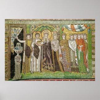 Emperatriz Teodora Poster