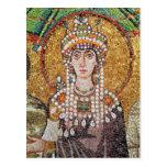 Emperatriz Teodora Tarjeta Postal