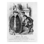 Emperatriz y conde postales