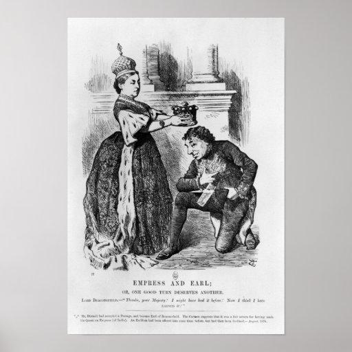 Emperatriz y conde póster