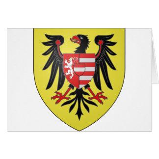 Empereur Albert de Armoiries II, Hungría Tarjeta De Felicitación