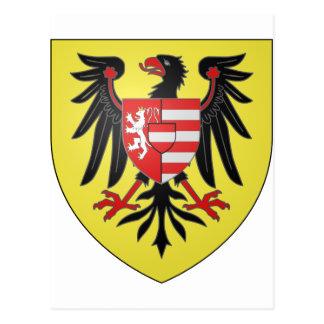 Empereur Albert de Armoiries II, Hungría Postales