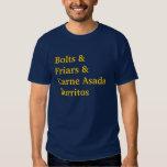 Emperna el &Carne AsadaBurritos de los &Friars Camisas