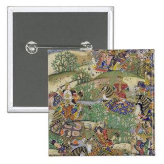 Emperor Akbar (r.1556-1605) at the battle of Samal Pin