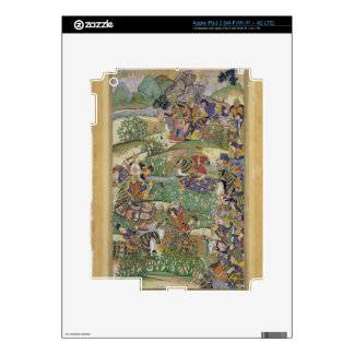 Emperor Akbar (r.1556-1605) at the battle of Samal iPad 3 Decal