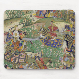 Emperor Akbar (r.1556-1605) at the battle of Samal Mouse Pad