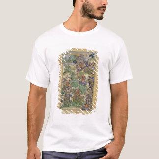 Emperor Akbar (r.1556-1605) at the battle of Samal T-Shirt