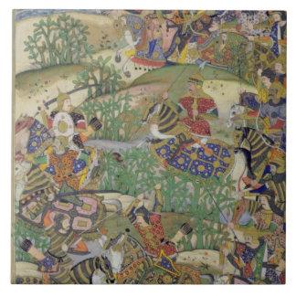 Emperor Akbar (r.1556-1605) at the battle of Samal Tile