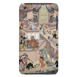 Emperor Akbar (r.1556-1605) inspecting the buildin Barely There iPod Cover