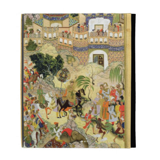 Emperor Akbar s triumphant entry into Surat from iPad Folio Covers