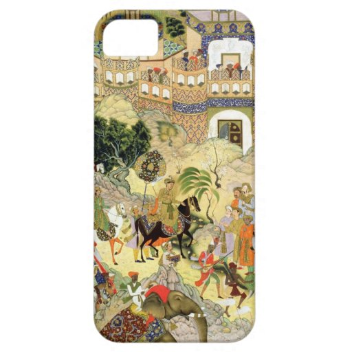 Emperor Akbar's triumphant entry into Surat, from iPhone 5 Covers