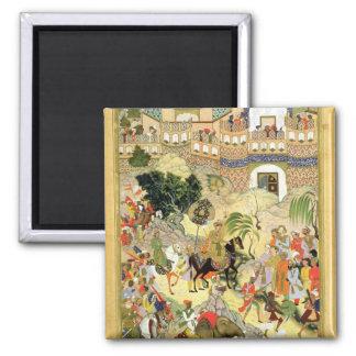 Emperor Akbar's triumphant entry into Surat, from Magnet