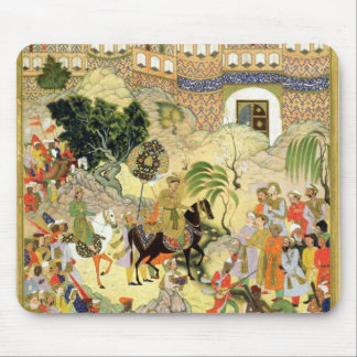 Emperor Akbar's triumphant entry into Surat, from Mouse Pad