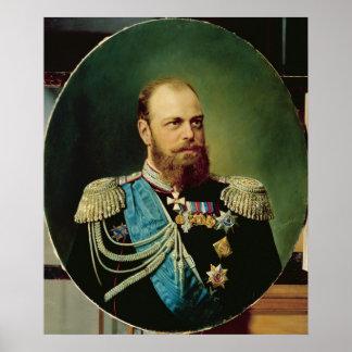 Emperor Alexander III Poster