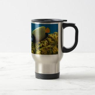 Emperor Angel Fish Travel Mug
