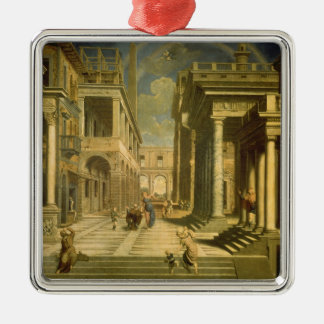 Emperor Augustus and the Sibyl, 1535 Metal Ornament