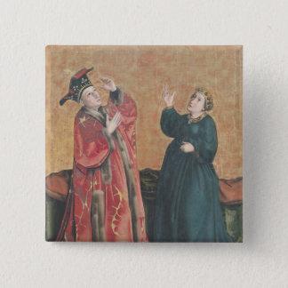 Emperor Augustus  and the Tiburtine Sibyl Pinback Button