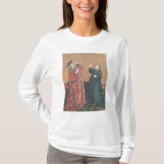 Emperor Augustus  and the Tiburtine Sibyl T-Shirt