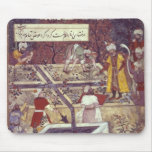 Emperor Babur and his architect plan Mouse Pads
