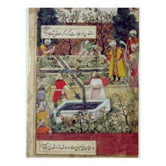 Emperor Babur Postcard