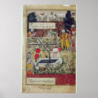 Emperor Babur Poster