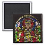 Emperor Charlemagne 2 Inch Square Magnet