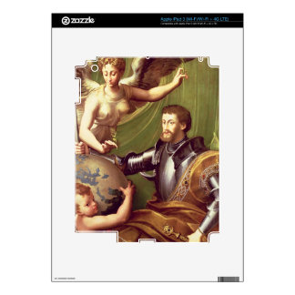 Emperor Charles V (1500-58) Receiving the World, c iPad 3 Skin