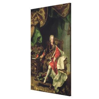 Emperor Charles VI , c.1730, Canvas Print