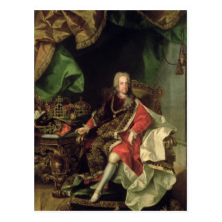 Emperor Charles VI , c.1730, Postcard