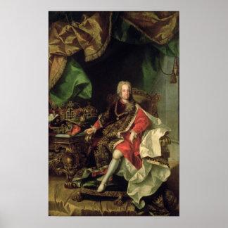 Emperor Charles VI , c.1730, Poster