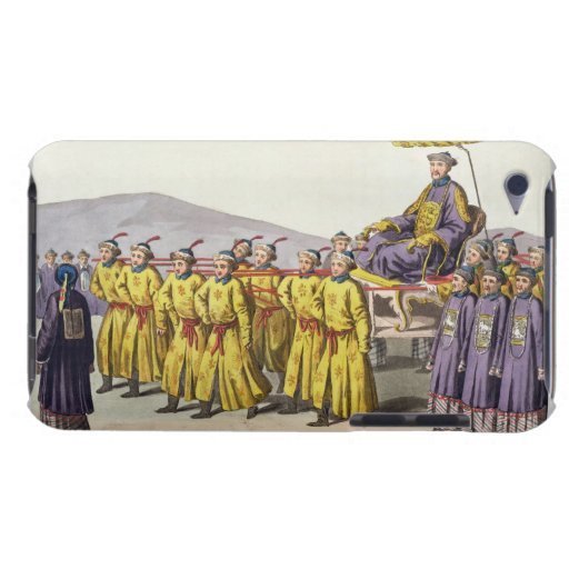 Emperor Ch'ien Lung carried in Triumph, plate 18 f Case-Mate iPod Touch Case