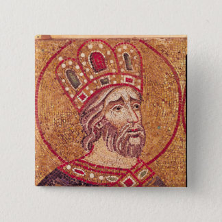 Emperor Constantine I  the Great Pinback Button