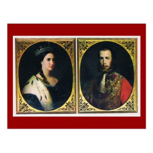 Emperor & Empress of Mexico #017M Postcard