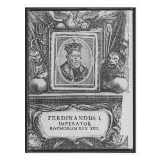 Emperor Ferdinand I , King of Bohemia Post Card