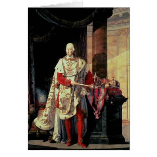 Emperor Francis I of Austria, 19th century Card