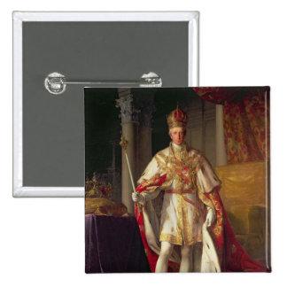 Emperor Franz II of Austria 2 Inch Square Button