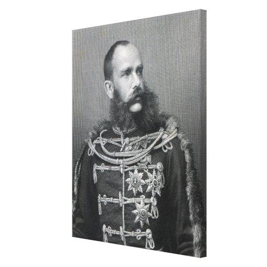 Emperor Franz Joseph I of Austria Canvas Print