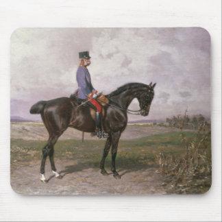 Emperor Franz Joseph I on his Austrian horse Mouse Pad